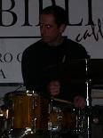 in concert with drums